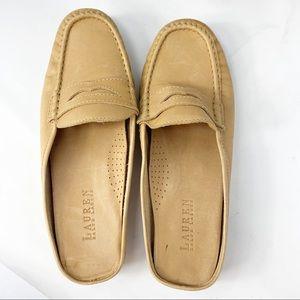 Lauren Ralph Lauren Leather Penny loafers Mules